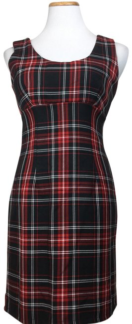 Preload https://item3.tradesy.com/images/lf-red-black-you-tartan-sleeveless-short-casual-dress-size-0-xs-23781957-0-1.jpg?width=400&height=650