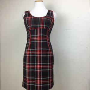 LF short dress red black on Tradesy