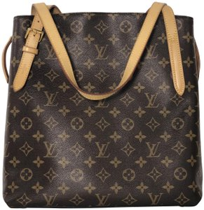 Louis Vuitton Monogram Voltaire Voltaire Monogram Canvas Tote Shoulder Bag