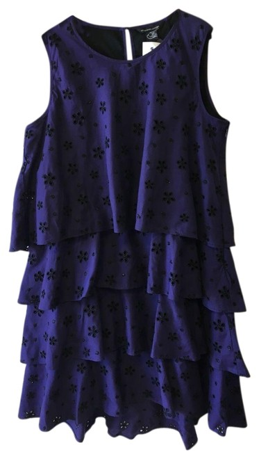 Preload https://img-static.tradesy.com/item/23782041/purple-tiered-short-casual-dress-size-10-m-0-2-650-650.jpg