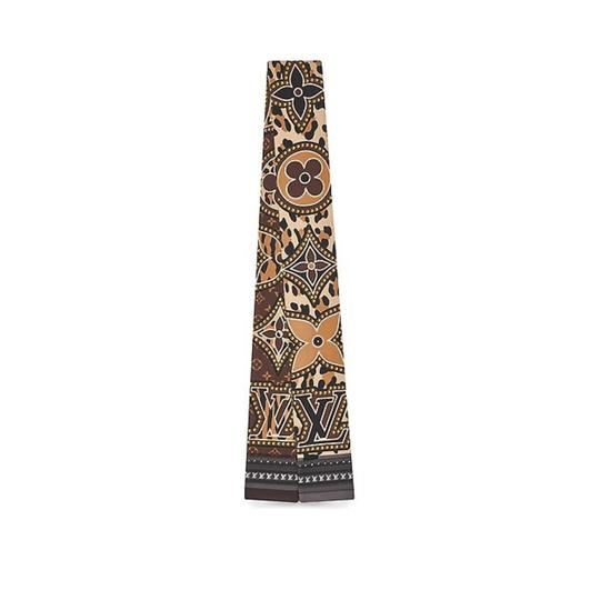 Preload https://item4.tradesy.com/images/louis-vuitton-brown-2018-lv-world-bandeau-hard-to-get-scarfwrap-23782043-0-0.jpg?width=440&height=440