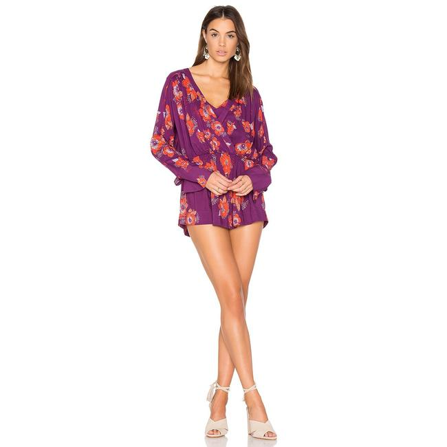Preload https://item2.tradesy.com/images/free-people-plum-tuscan-dreams-printed-tunics-short-casual-dress-size-8-m-23782056-0-0.jpg?width=400&height=650