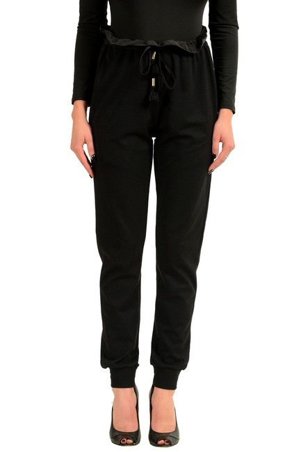 Preload https://img-static.tradesy.com/item/23782076/just-cavalli-black-women-s-high-waist-casual-straight-leg-pants-size-4-s-27-0-0-650-650.jpg