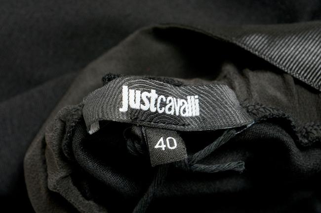 Just Cavalli Straight Pants Black