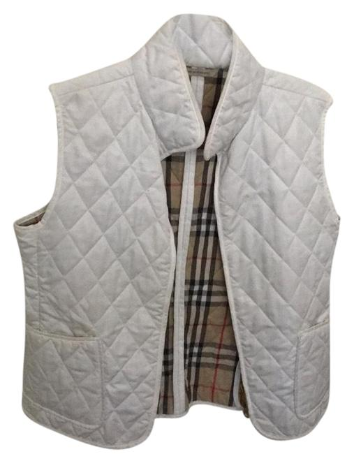 Preload https://item3.tradesy.com/images/burberry-white-quilted-vest-size-6-s-23782092-0-1.jpg?width=400&height=650