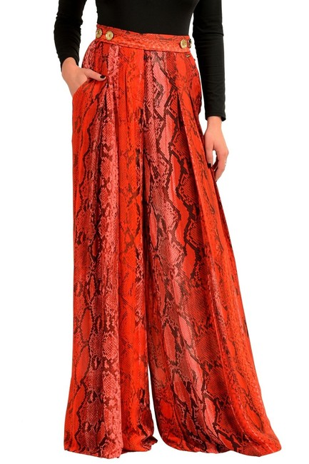 Just Cavalli Wide Leg Pants Multicolor