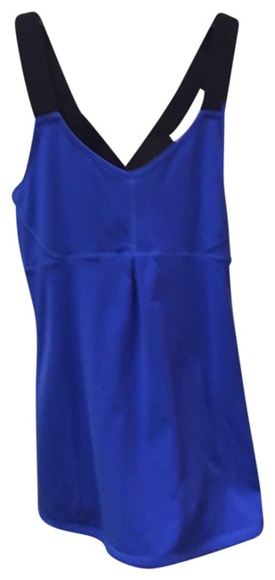 Preload https://item4.tradesy.com/images/cobalt-blueblack-tank-topcami-size-2-xs-23782158-0-1.jpg?width=400&height=650
