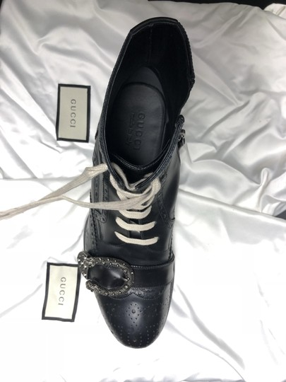 Gucci Leather Queercore Us 9.5 Mens black Boots