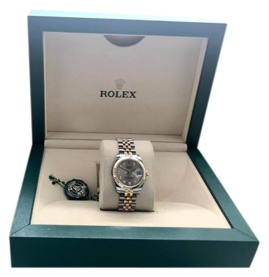 Preload https://item3.tradesy.com/images/rolex-two-tone-lady-datejust-178273-31mm-silver-diamond-dial-watch-23782187-0-2.jpg?width=440&height=440