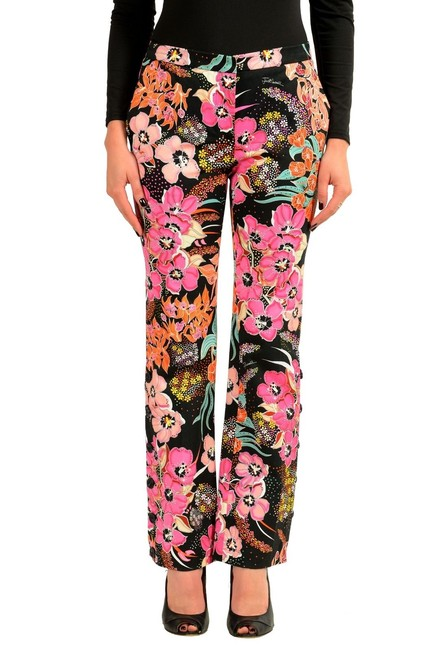 Preload https://img-static.tradesy.com/item/23782210/just-cavalli-multicolor-women-s-floral-casual-flared-pants-size-4-s-27-0-0-650-650.jpg