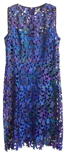 Preload https://item2.tradesy.com/images/t-tahari-blue-wortha-lace-and-velvet-short-cocktail-dress-size-2-xs-23782211-0-1.jpg?width=400&height=650