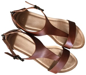 Kenneth Cole #wedge Size #gentlyused brown Sandals