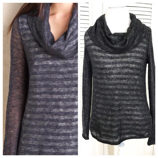 Preload https://item2.tradesy.com/images/anthropologie-gray-and-cream-moth-sweaterpullover-size-4-s-23782271-0-1.jpg?width=400&height=650