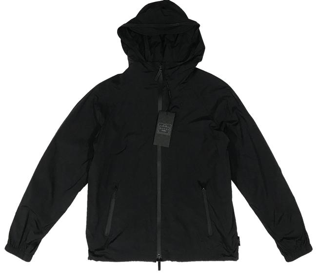 Preload https://item5.tradesy.com/images/gucci-black-304834-women-s-viaggio-nylon-stretch-hooded-sports-40-spring-jacket-size-4-s-23782289-0-1.jpg?width=400&height=650