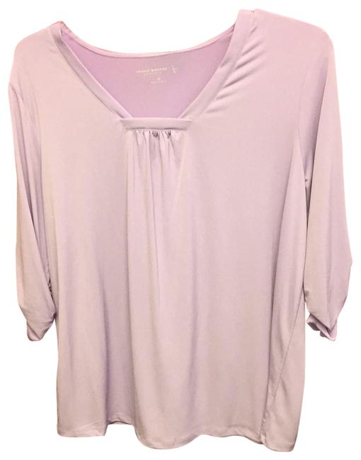 Preload https://img-static.tradesy.com/item/23782292/susan-graver-dark-lavender-ls-top-nwot-tunic-size-20-plus-1x-0-1-650-650.jpg