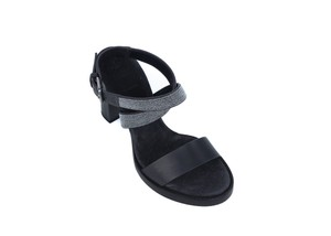 Brunello Cucinelli Dark Grey Sandals