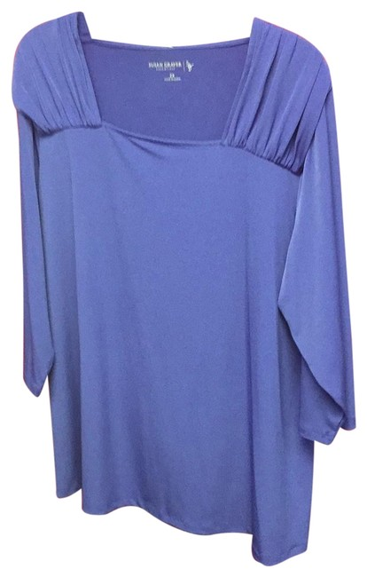 Preload https://item2.tradesy.com/images/susan-graver-purple-ls-top-nwot-tunic-size-20-plus-1x-23782301-0-1.jpg?width=400&height=650