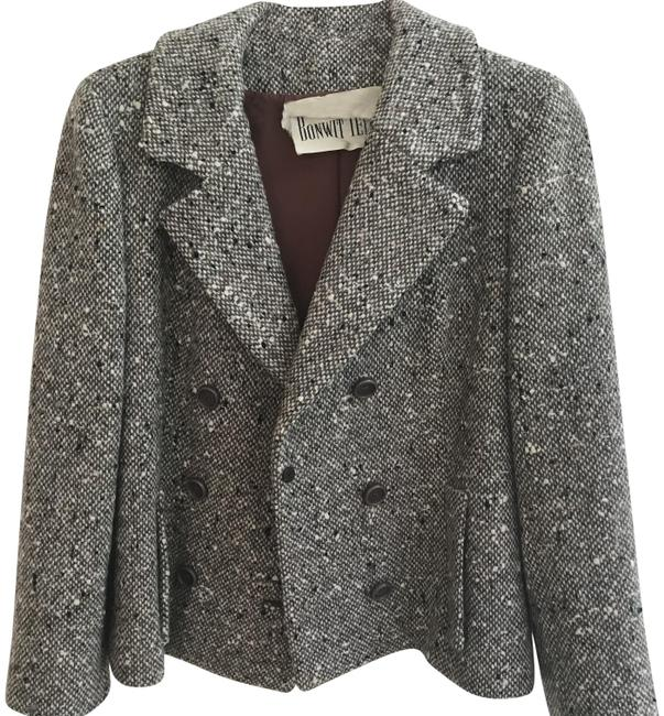 Preload https://img-static.tradesy.com/item/23782350/bonwit-teller-tweed-vintage-50s-heavy-double-breasted-jacket-blazer-size-10-m-0-1-650-650.jpg