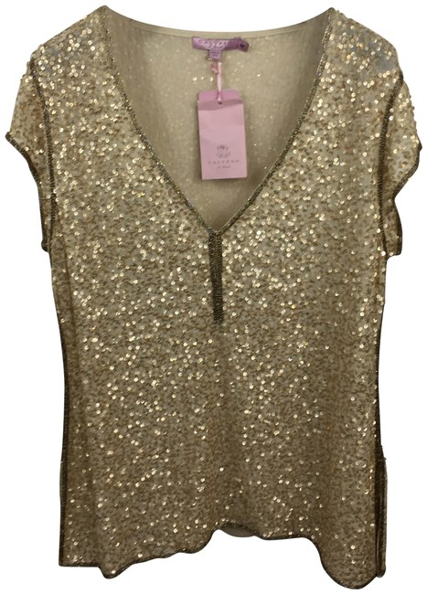 Preload https://item4.tradesy.com/images/calypso-st-barth-gold-fina-sparkle-146-14-condition-nwts-blouse-size-8-m-23782368-0-1.jpg?width=400&height=650