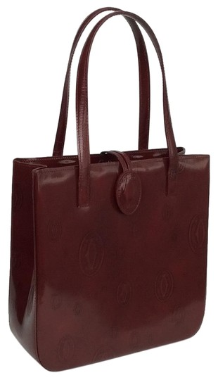 Preload https://item4.tradesy.com/images/cartier-happy-birthday-red-leather-satchel-23782413-0-2.jpg?width=440&height=440