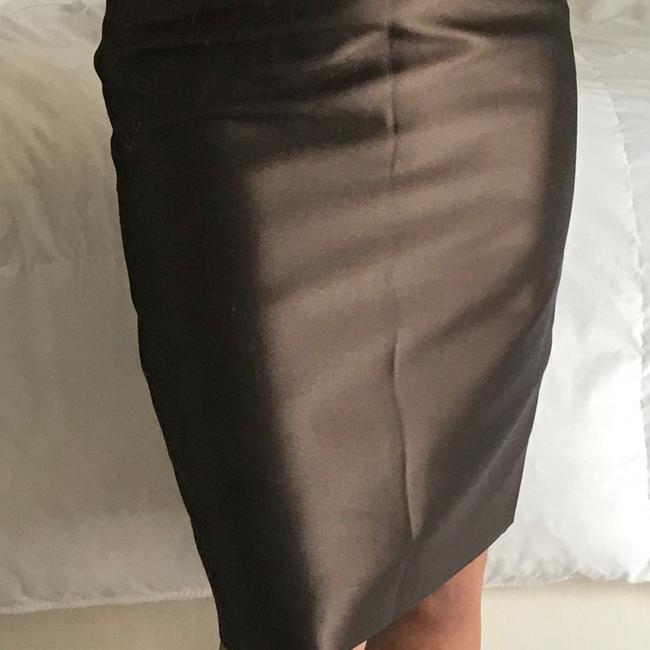 Escada Skirt Bronze