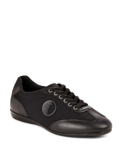 Preload https://img-static.tradesy.com/item/23782466/versace-collection-black-nappa-leather-and-neoprene-sneakers-sneakers-size-eu-45-approx-us-15-regula-0-0-540-540.jpg