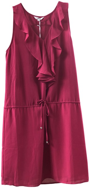Preload https://item2.tradesy.com/images/hot-pink-ruffle-short-casual-dress-size-4-s-23782491-0-1.jpg?width=400&height=650