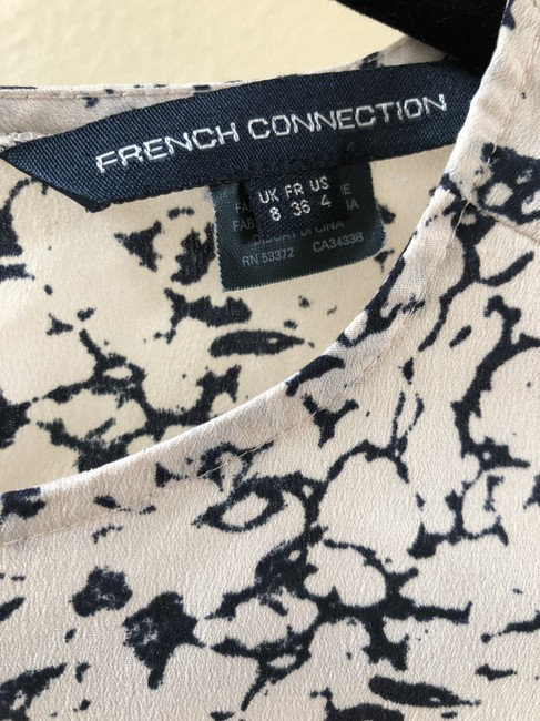 French Connection Top Baby Pink / Black