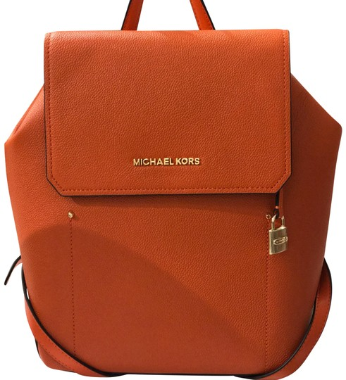 Preload https://item4.tradesy.com/images/michael-kors-haues-medium-persm-dark-khaki-leather-backpack-23782543-0-1.jpg?width=440&height=440
