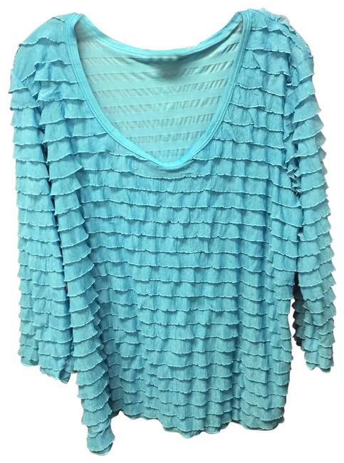 Preload https://item2.tradesy.com/images/slinky-brand-light-turquoise-ls-top-nwot-tunic-size-20-plus-1x-23782546-0-1.jpg?width=400&height=650