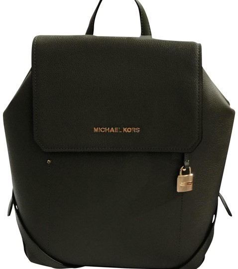 Preload https://img-static.tradesy.com/item/23782551/michael-kors-hayes-medium-olive-leather-backpack-0-1-540-540.jpg