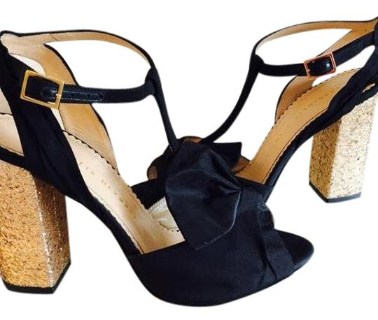 Preload https://item4.tradesy.com/images/charlotte-olympia-black-and-gold-odelle-sandals-size-eu-38-approx-us-8-regular-m-b-23782553-0-1.jpg?width=440&height=440