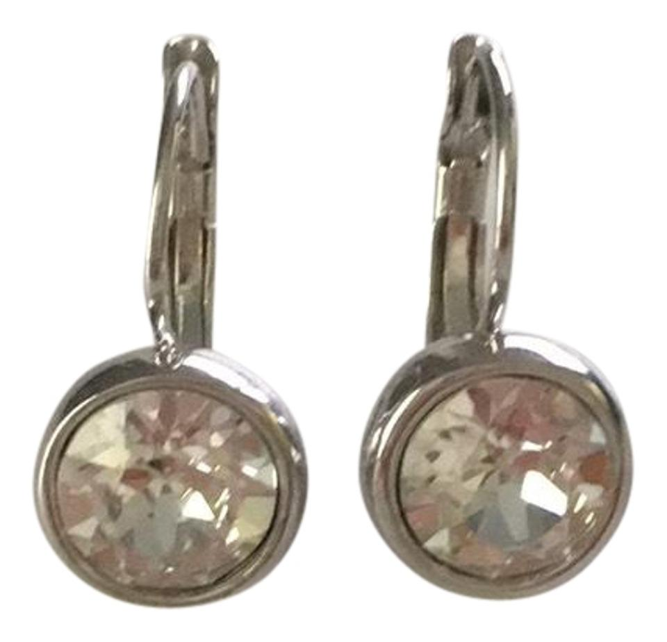 0290752f7 Swarovski Silver Bella Mini Pierced Earrings - Tradesy