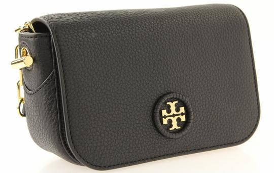 Tory Burch Leather Chain Logo Cross Body Bag