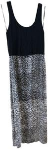 Black / Leopard Maxi Dress by Vince Camuto