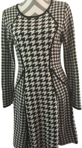 Calvin Klein Houndstooth Fit Flare Dress