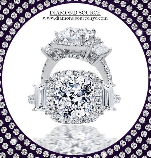 Preload https://img-static.tradesy.com/item/23782975/14k-white-gold-certified14k-engagement-with-center-253ct-cushion-cut-ring-0-0-540-540.jpg