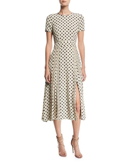 Preload https://item3.tradesy.com/images/burberry-cream-and-navy-polka-dot-silk-mid-length-workoffice-dress-size-6-s-23782982-0-0.jpg?width=400&height=650