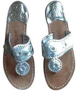 c7d35a61431c Silver Jack Rogers Sandals - Up to 90% off at Tradesy