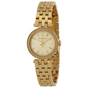 50e613e3a299 Michael Kors Michael Kors Mini Darci Champagne Dial Gold-tone Ladies Watch  MK3295