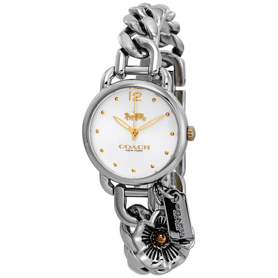 fab58c33fe6c Coach Coach Delancey White Dial Stainless Steel Ladies Watch 14502869 Image  0 ...