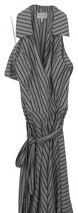 Navy and white stripes Maxi Dress by MILLY