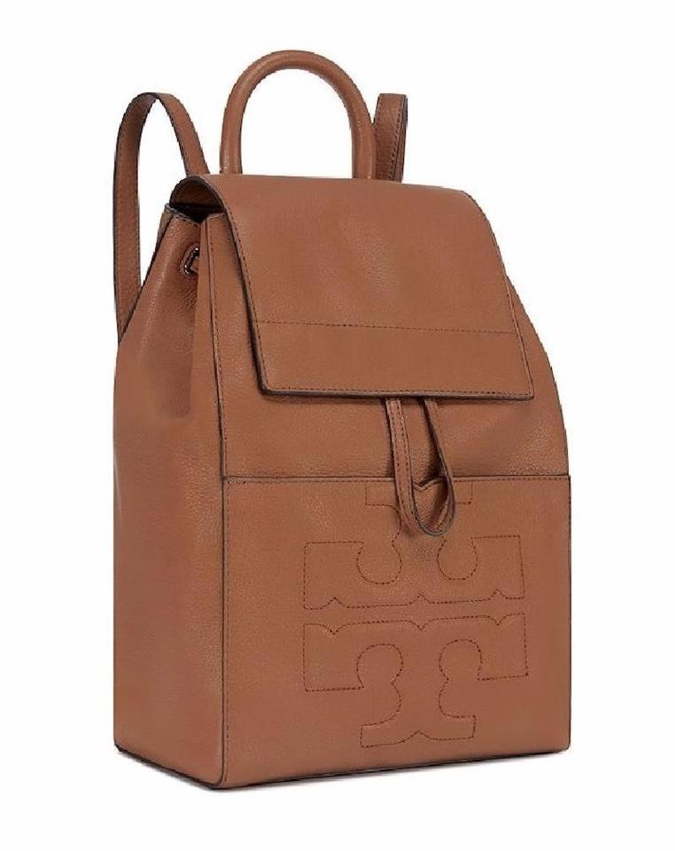 Burch Bark Tan Bombe Backpack Leather Tory Brown Shoulder 8qx7CwzAz