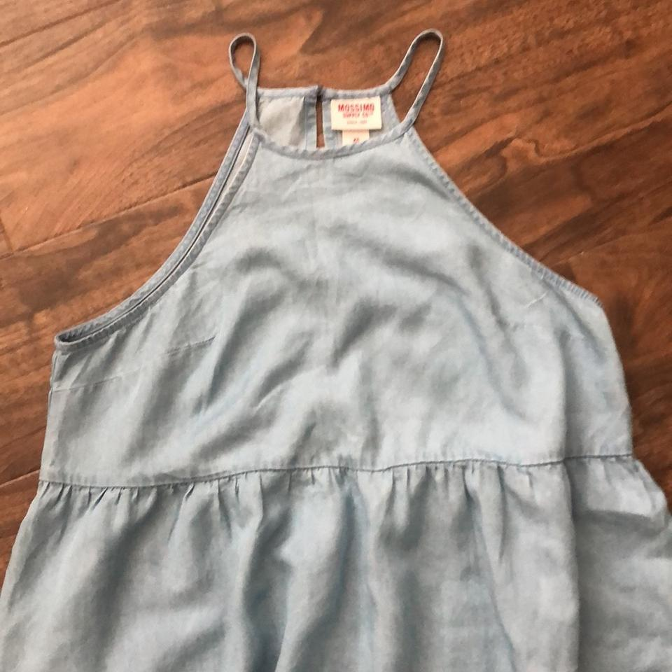 370ed4a4c2 Mossimo Supply Co. Light Blue Sundress Short Casual Dress Size 2 (XS ...