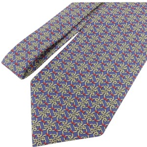 Hermes Authentic HERMES Men's Necktie tie