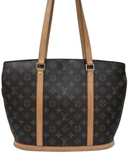 7d2771edd732 Louis Vuitton Babylone Monogram Coated Canvas and Leather Trim ...