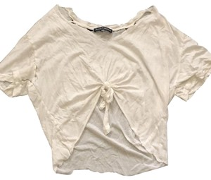 6a5ee21fa3d47 White Brandy Melville Tee Shirts - Up to 70% off a Tradesy