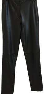Jillian Jones Straight Pants Black