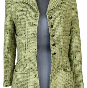 Chanel Green Blazer