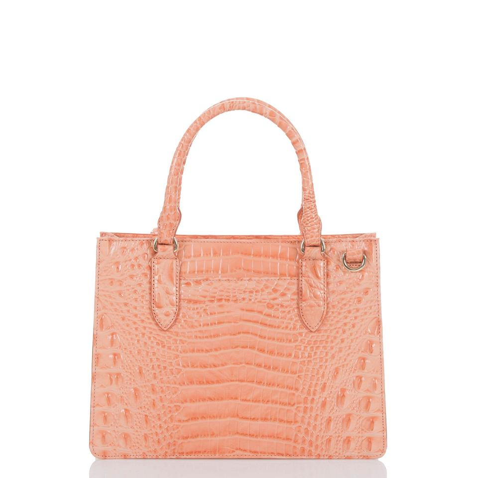 Cantaloupe Small Satchel Leather Camille Melbourne Brahmin HvtFSqwxH